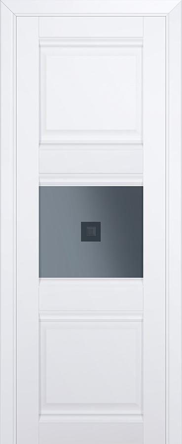 Межкомнатная дверь 5U Узор графит 2