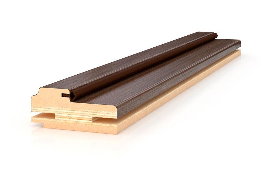 Profil Doors Коробка фигурная 33*74*2070 комплект