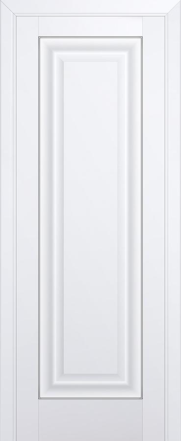 Межкомнатная дверь 23U Серебро