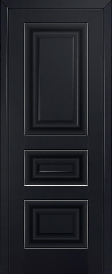 Межкомнатная дверь 25U Серебро