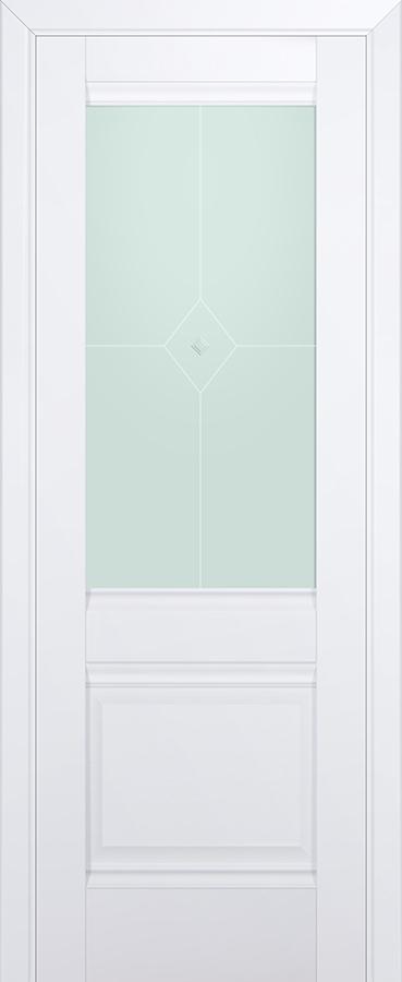 Межкомнатная дверь 2U Узор матовый