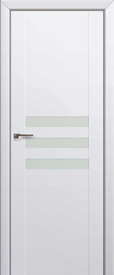 Межкомнатная дверь 74U Белый лак