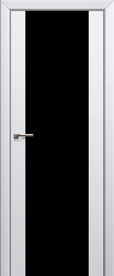 Межкомнатная дверь 8U Черный триплекс