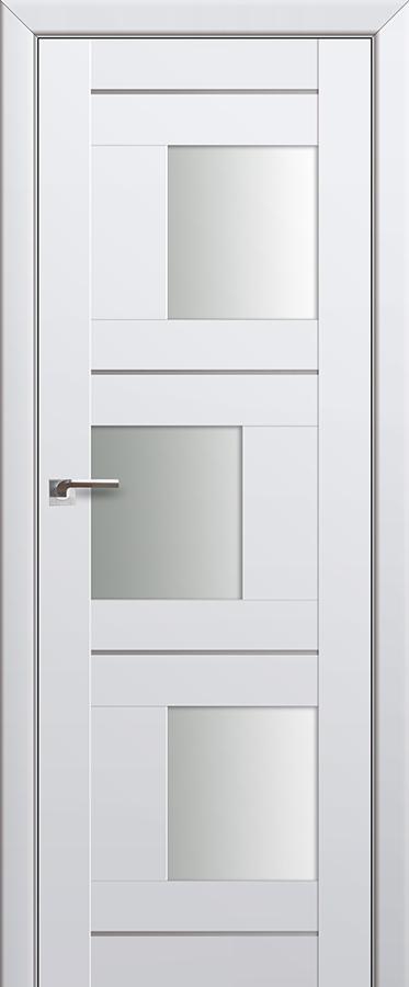 Межкомнатная дверь 13U Белый триплекс