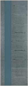 Дверь из комбинированного массива Афина стекло лакобель серый Дуб Серый Патина
