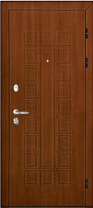 Входная дверь Сенатор Стандарт Орех панель Корсика Brandy