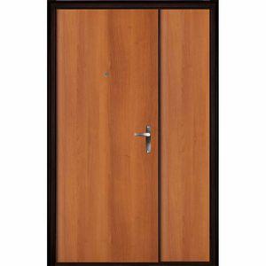 Входная дверь Topaz Медный Антик панель Итальянский Орех