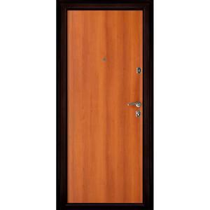 Входная дверь Оптима Медный Антик панель Итальянский Орех