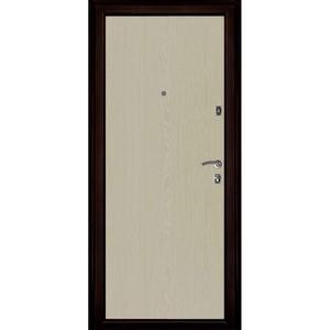 Входная дверь Оптима Медный Антик панель Беленый Дуб