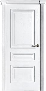 Дверь Viva Elite Шпон натурального дуба, покрыт белой эмалью ДГ