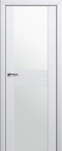 Межкомнатная дверь 10U Белый триплекс