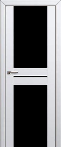 Межкомнатная дверь 10U Черный триплекс