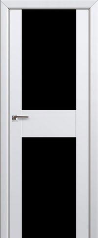 Межкомнатная дверь 11U Черный триплекс