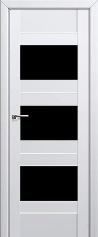 Межкомнатная дверь 41U Черный триплекс
