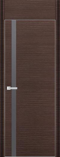 Profil Doors 6D Серебренный лак С фрамугой