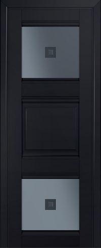 Межкомнатная дверь 6U Узор графит 2