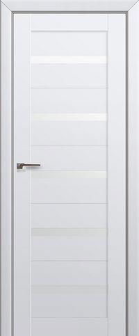 Межкомнатная дверь 7U Белый триплекс