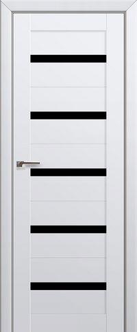 Межкомнатная дверь 7U Черный триплекс
