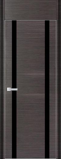 Profil Doors 9D Черный лак С фрамугой