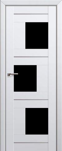 Межкомнатная дверь 13U Черный триплекс