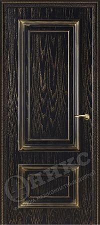 Оникс Мадрид Черная эмаль с золотой патиной