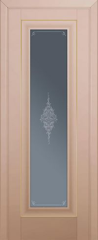 Profil doors 24U Кристалл графит,Золото