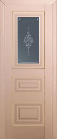 Profil doors 26U Кристалл графит,Золото
