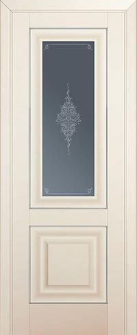Profil doors 28U Кристалл графит,Серебро