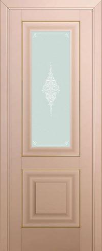 Profil doors 28U Кристалл матовый,Золото