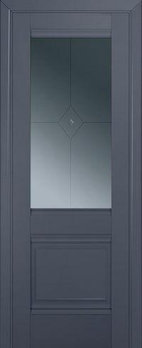 Profil doors 2U Узор графит