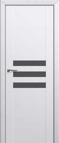 Межкомнатная дверь 74U Серебряный лак