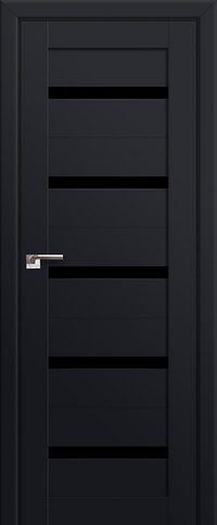 Profil doors 7U Черный триплекс