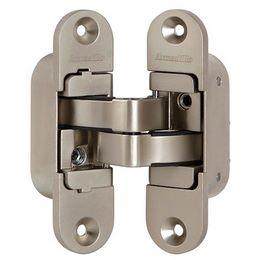 Петли дверные скрытой установки Armadillo Architect 3D-ACH 60 SN (матовый никель,левая)