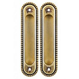 Ручка для раздвижных дверей Armadillo SH010/CL FG-10 Французское золото