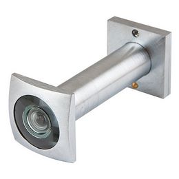 Глазок дверной квадратный Armadillo DVG6 SQ 16/70х110 SC