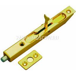 Шпингалет торцевой Vantage LX140SB (золото)