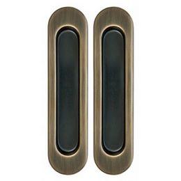 Комплект Дверных Ручек Для Раздвижных Дверей Armadillo SH010-AB-7 бронза