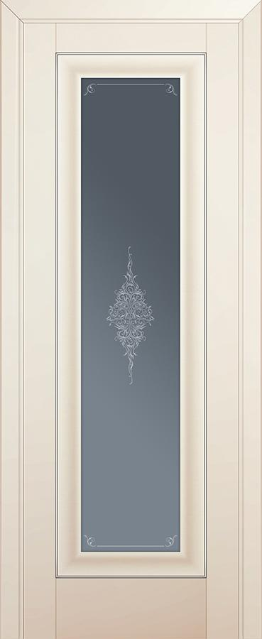 Profil doors 24U Кристалл графит,Серебро
