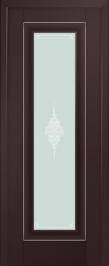 Profil doors 24U Кристалл матовый,Серебро