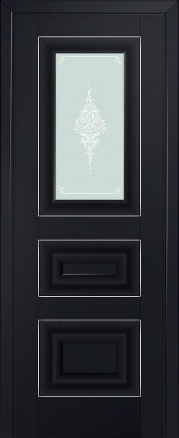 Profil doors 26U Кристалл матовый,Серебро