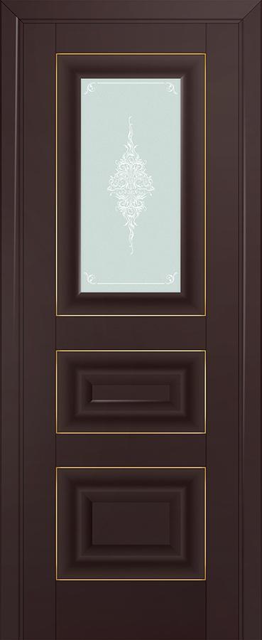 Profil doors 26U Кристалл матовый,Золото