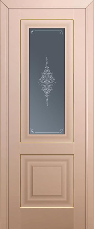 Profil doors 28U Кристалл графит,Золото