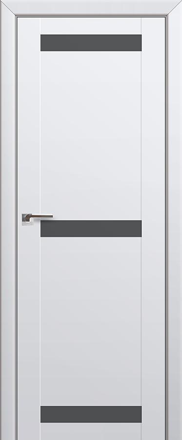 Межкомнатная дверь 75U Серебряный лак